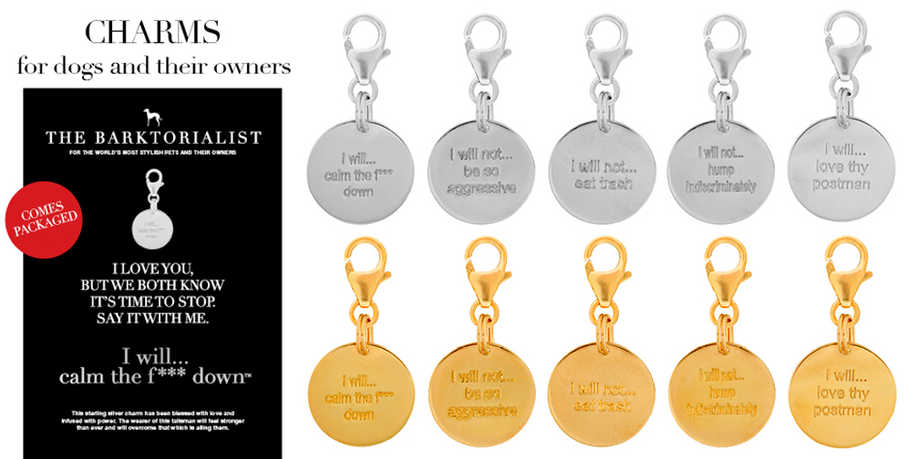 BARKTORIALIST Charm Dog Tags