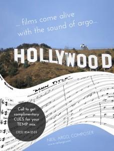 Neil Argo, Composer, Film & TV Score