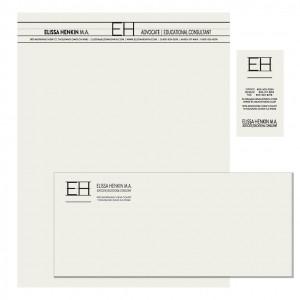 Elissa Henkin M.A. | Stationery Suite
