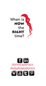 donna sparaco business card back